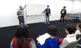 子ども向け演劇ワークショップを開催しました